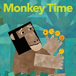英語絵本「MONKEY TIME」