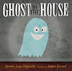 ハロウィンの英語絵本「GHOST IN THE HOUSE」