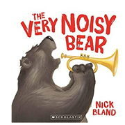 英語絵本「The Very Noisy Bear」
