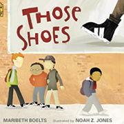 英語絵本「Those Shoes」