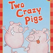 英語絵本「Two crazy pigs」