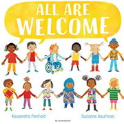 英語絵本「All Are Welcome」