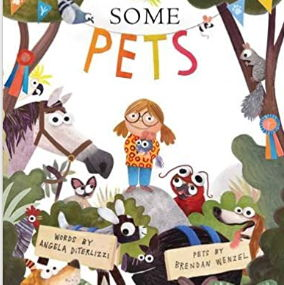 英語絵本「Some Pets」いろんなペット