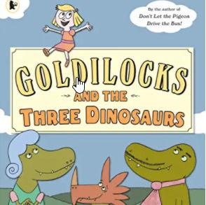 英語絵本「Goldilocks and the Three Dinosaurs」