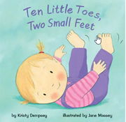 英語絵本「Ten Little Toes, Two Small feet」