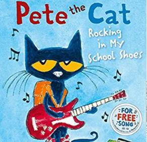 英語絵本「Pete the Cat Rocking in My School Shoes」