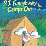 英語絵本「P. J. Funnybunny Camps Out」