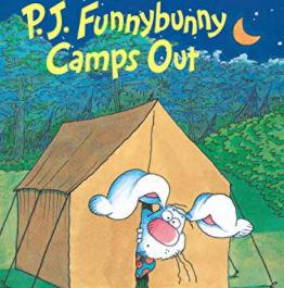 英語絵本「P. J. Funnybunny Camps Out」