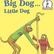 英語絵本「Big Dog...Little Dog」