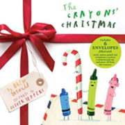 英語絵本「The Crayons Christmas」