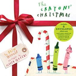英語絵本「The Crayons Christmas」