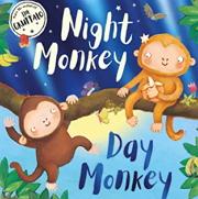 英語絵本「Night Monkey Day Monkey」
